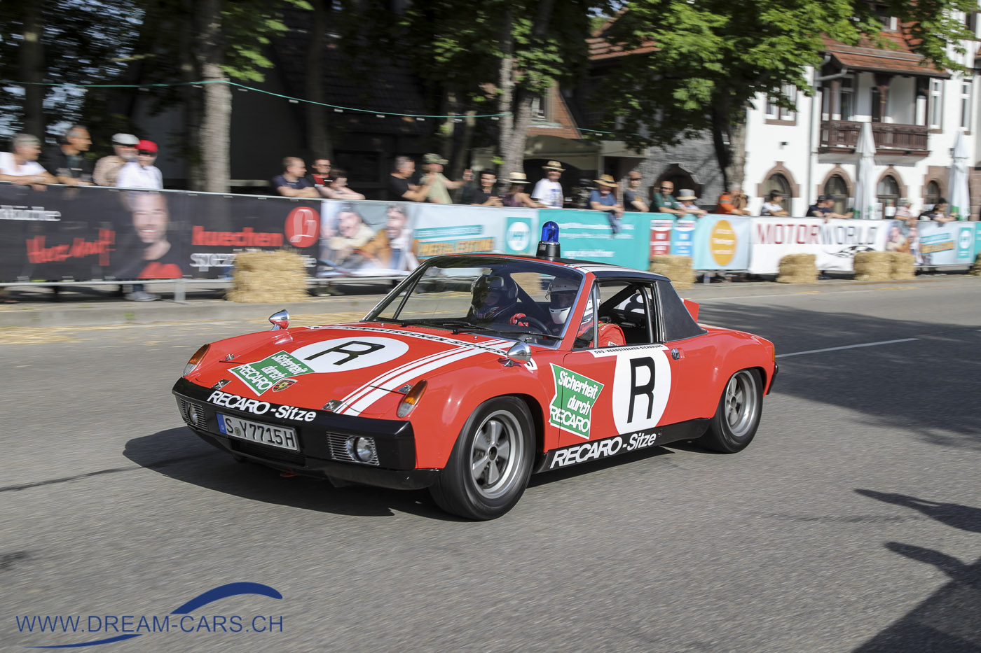 Der Porsche 914/6 GT der ONS Staffel beim Glemseck