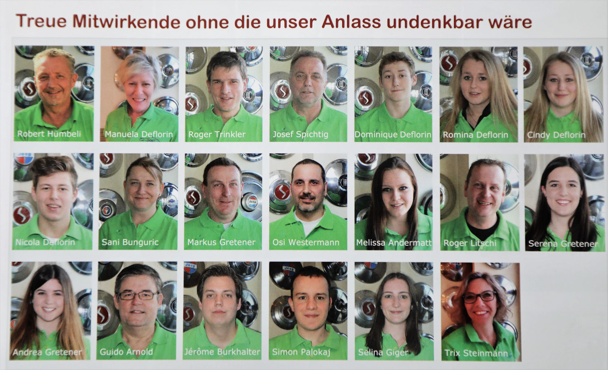 Das Team vom OSMT Zug
