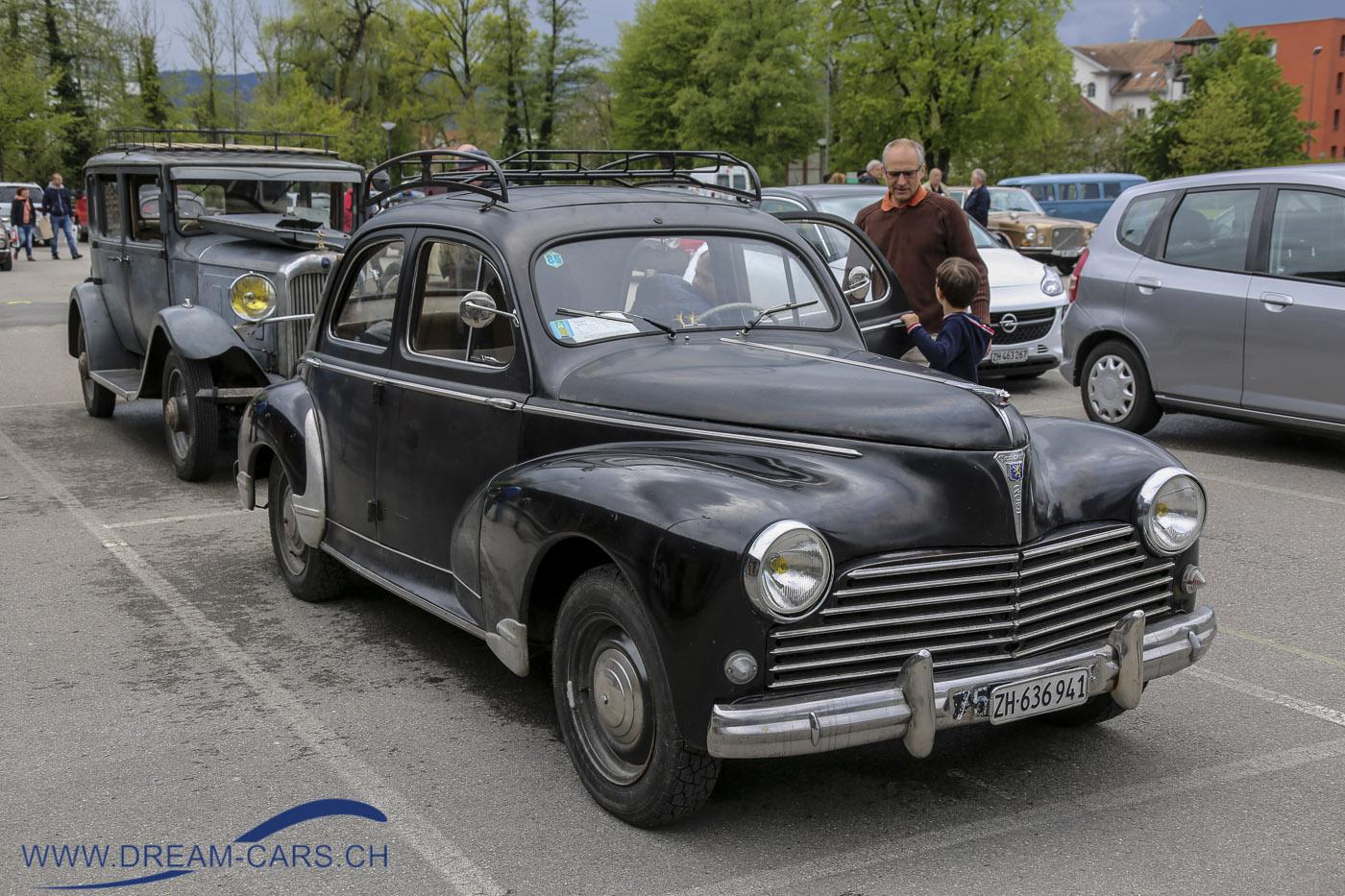Peugeot 203 und Citroën C4 in wunderschönem Originalzustand