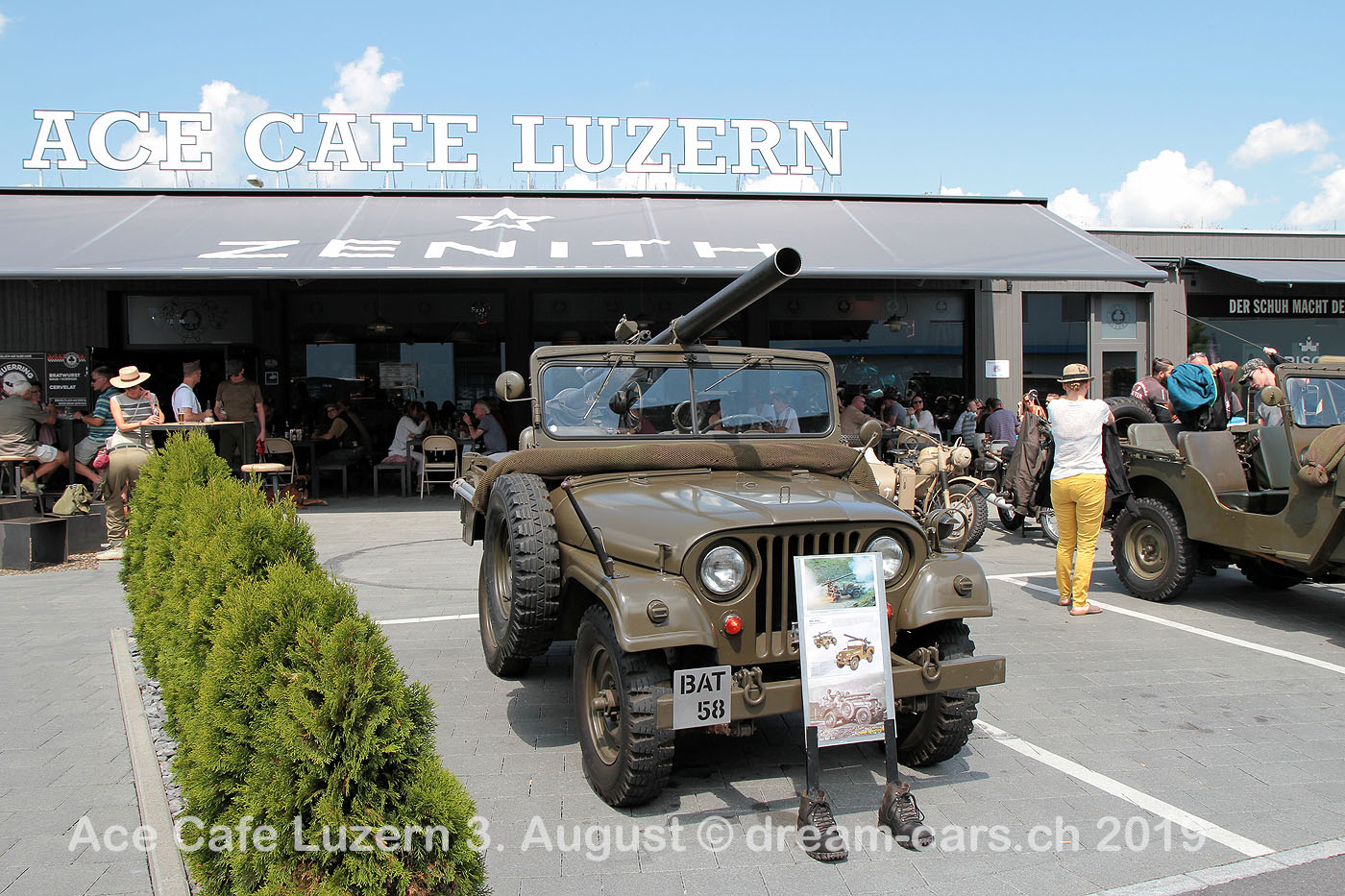 Ace Cafe Luzern 3. August 2019