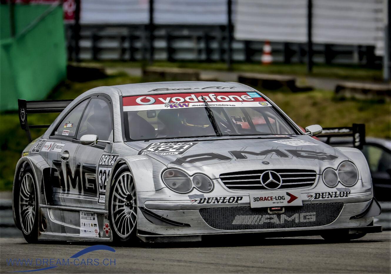 Mercedes-Benz CLK AMG am AvD Oldtimer Grand Prix auf dem Nürburgring 2019