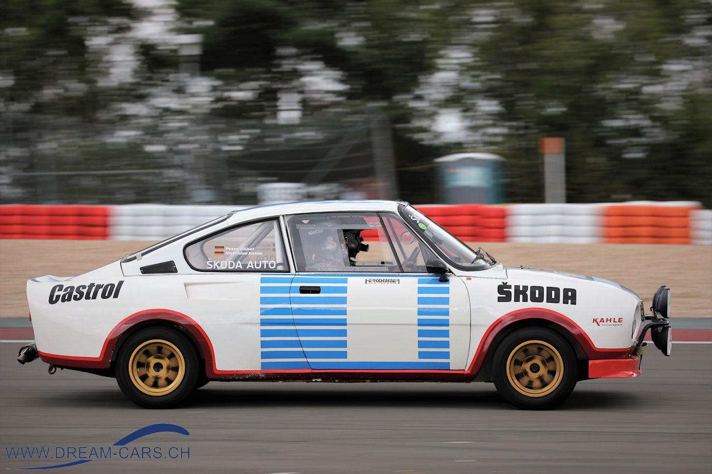 Skoda RS 130 mit Matthias Kahle