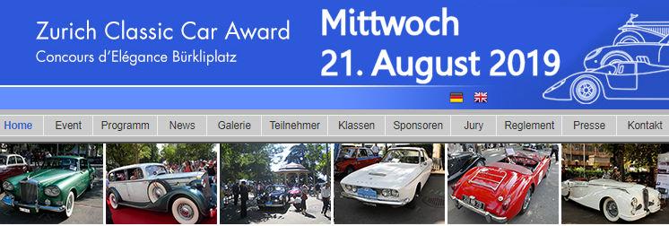ZCCA, Zurich, Classic, Car, Award, 2019