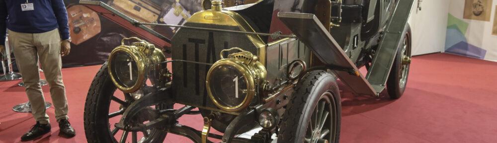 Auto e Moto d'Epoca Padua 2019. Itala 35/45 HP 1907, Peking-Paris. 16'000 KM in 60 Tagen