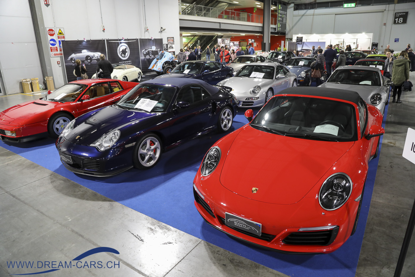 Porsche an der Milano AutoClassica 2019