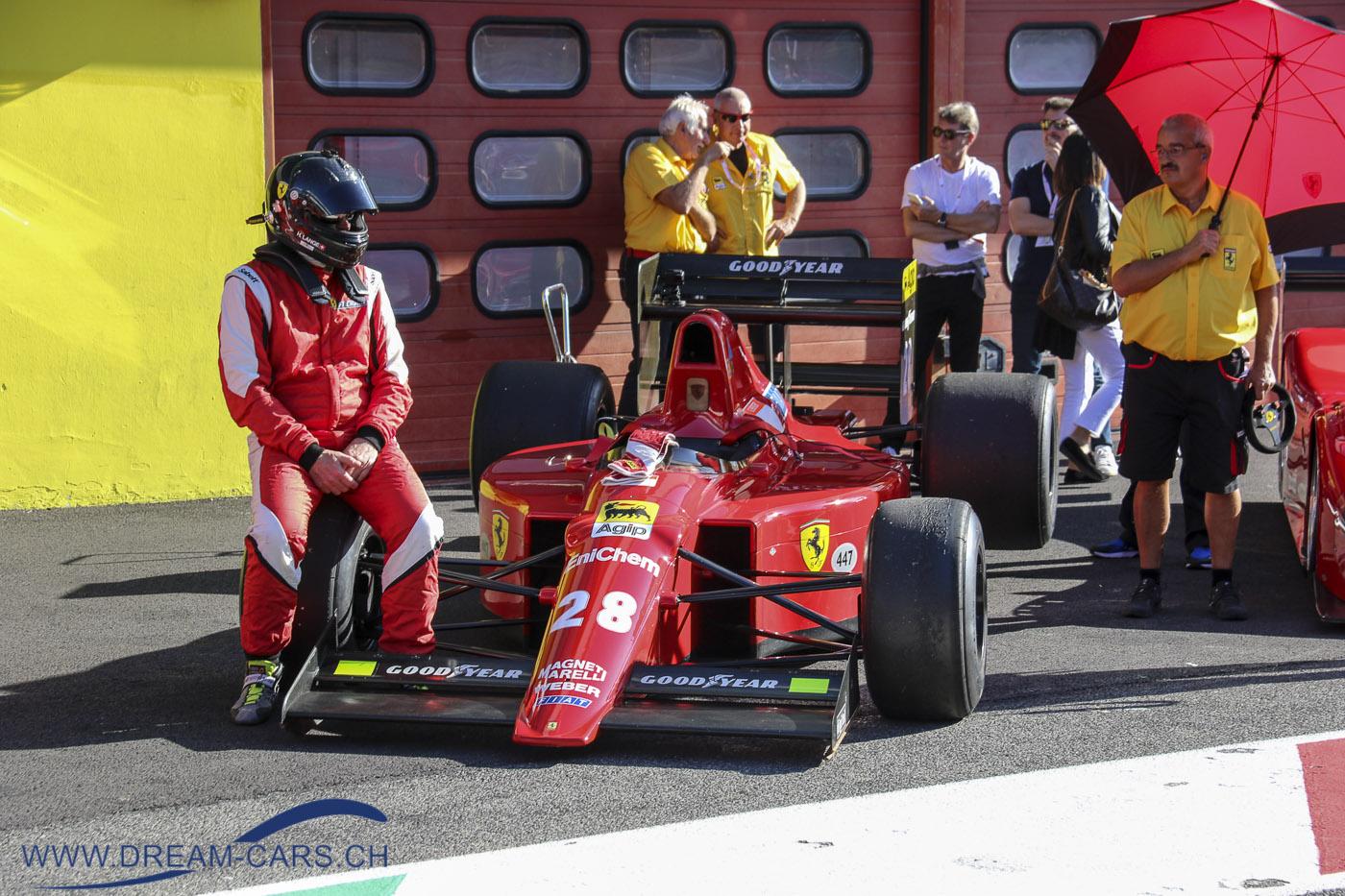 Ferrari 640 von 1989 am Finali Mondiali in Mugello 2019