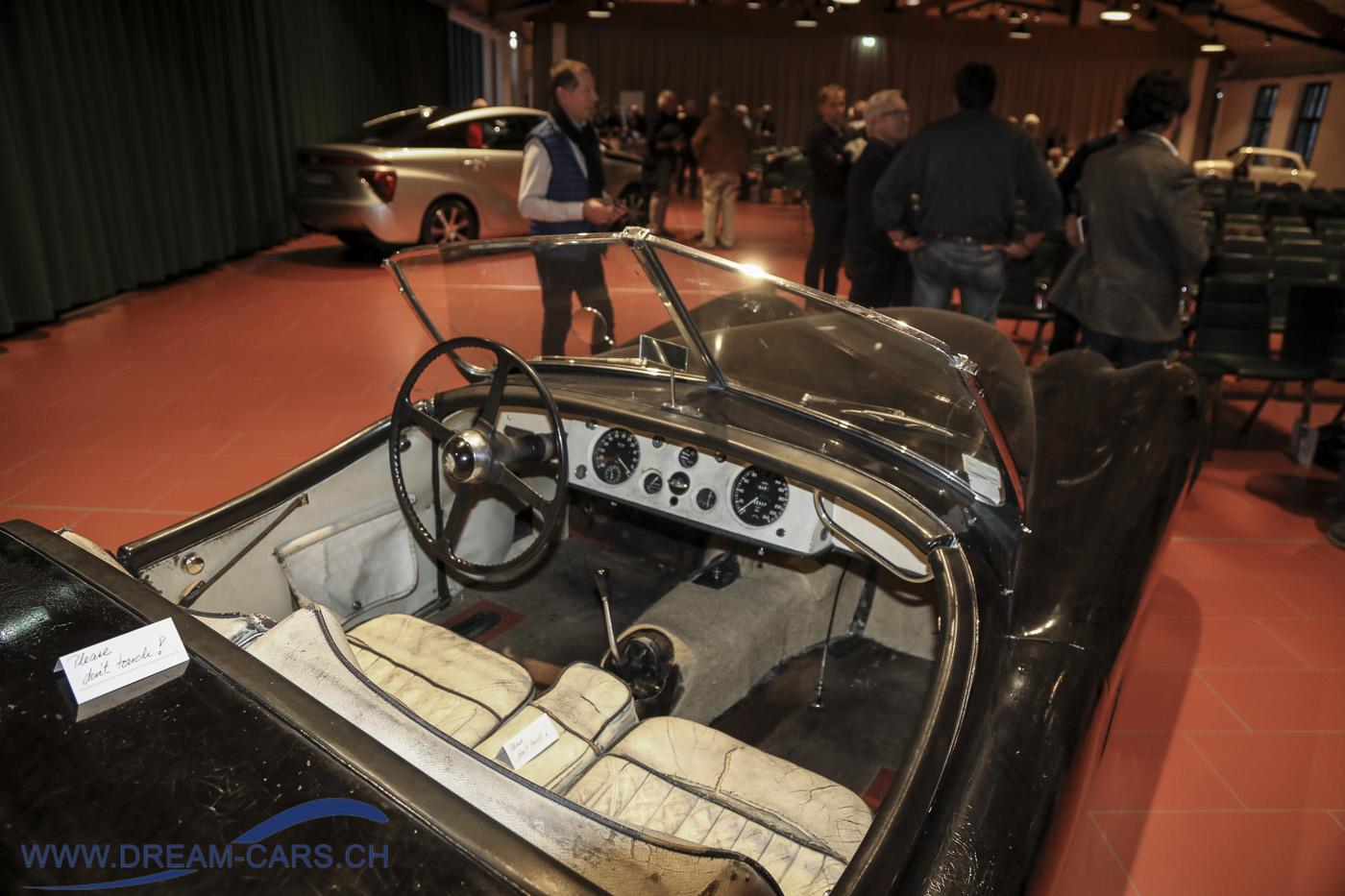 Jaguar XK 120 der Tänzerin Rosella Hightower