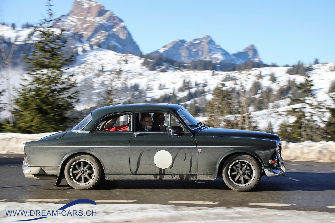 Volvo 123 GT am Winterrallye 'Auf Schnee und Eis', 11. Januar 2020