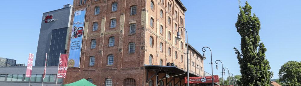 Das Hauptgebäude des PS.SPEICHER in Einbeck