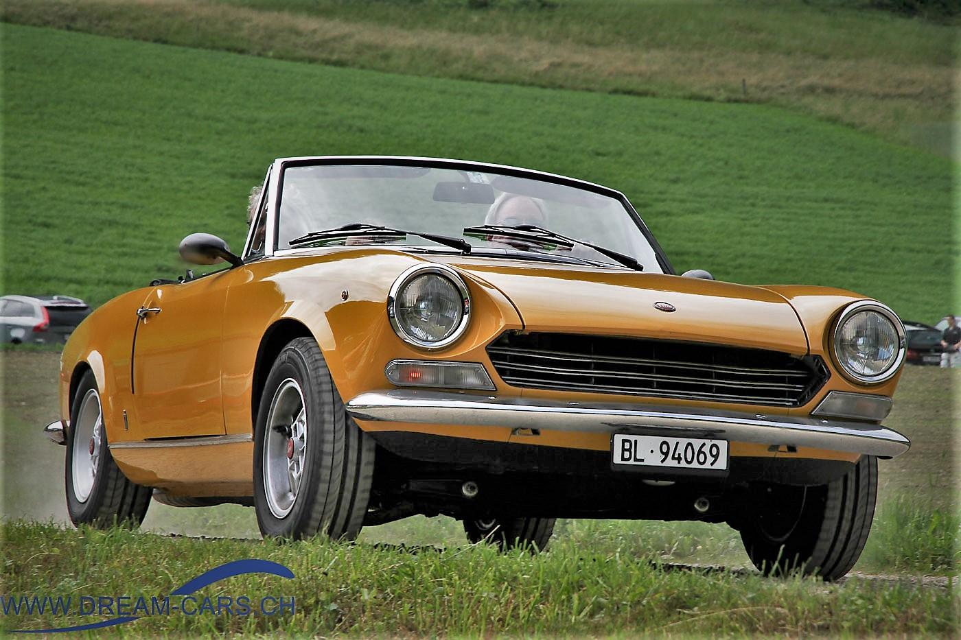 Fiat, 124, Spider, Klassiker, der, Woche, Oldtimer, Treffen, Eptingen