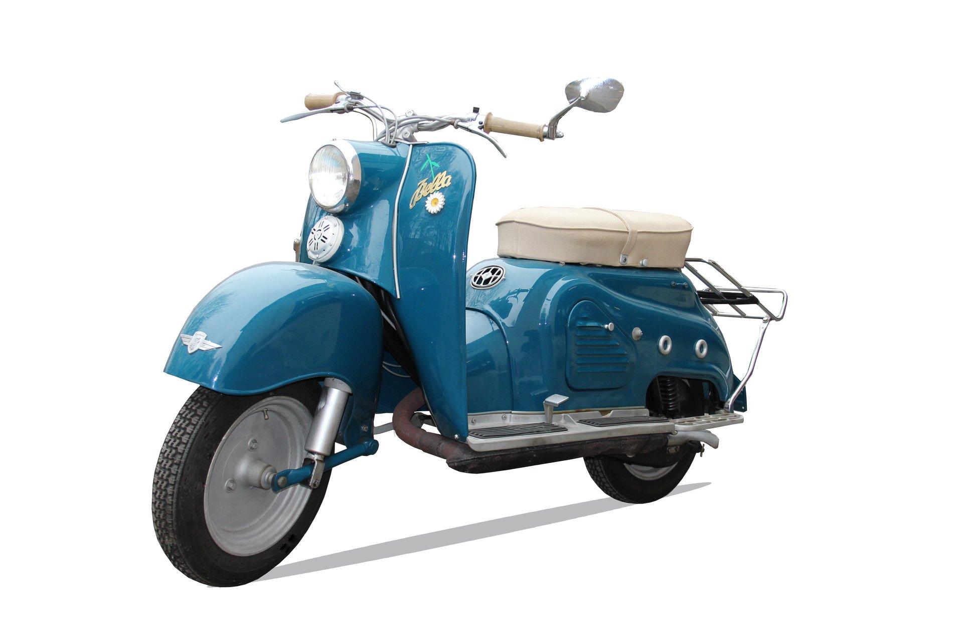 Der 10. Preis hat zwei Räder, eine wunderschöne Zündapp Bella, ideal für den Sommer.