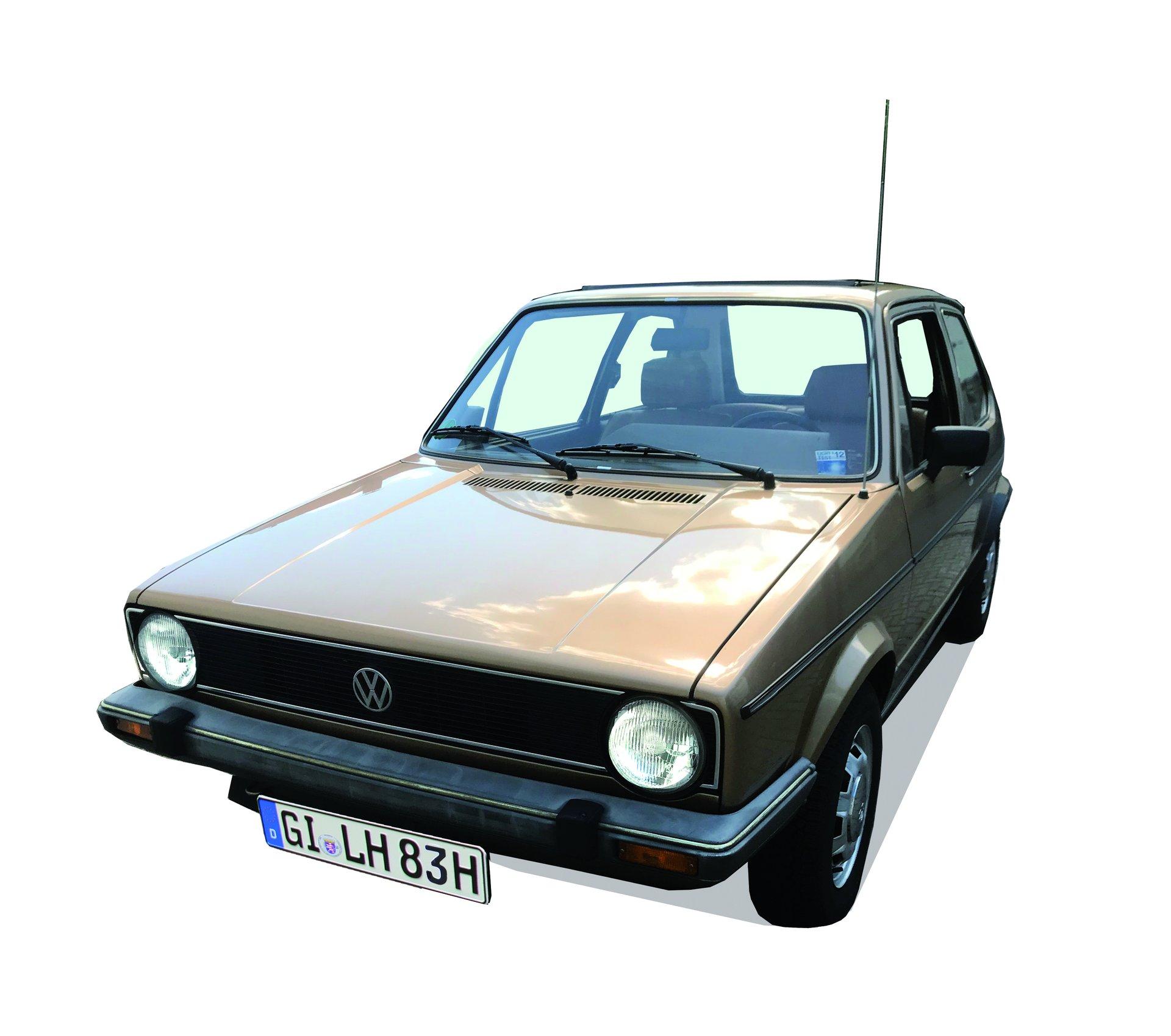 Selten sind sie geworden, originale VW Golf I im guten Zustand