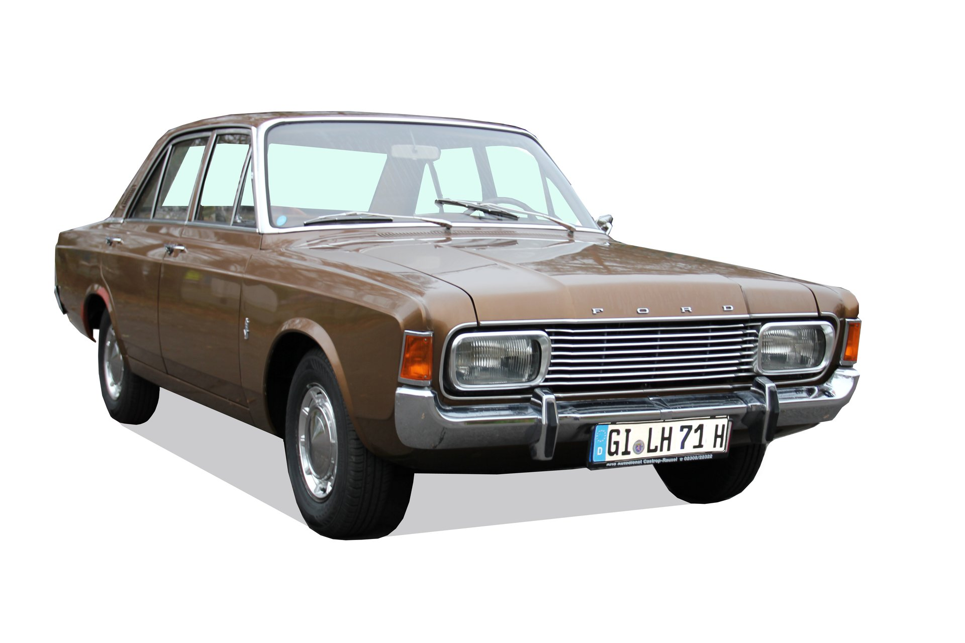 Marron, eine typische Farbe der Siebzigerjahre