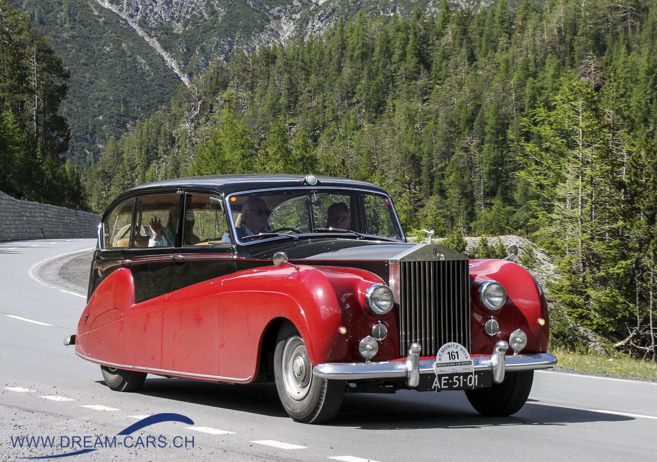 Rolls Royce Silver Wraith FLW26, Freestone & Webb, 1956
