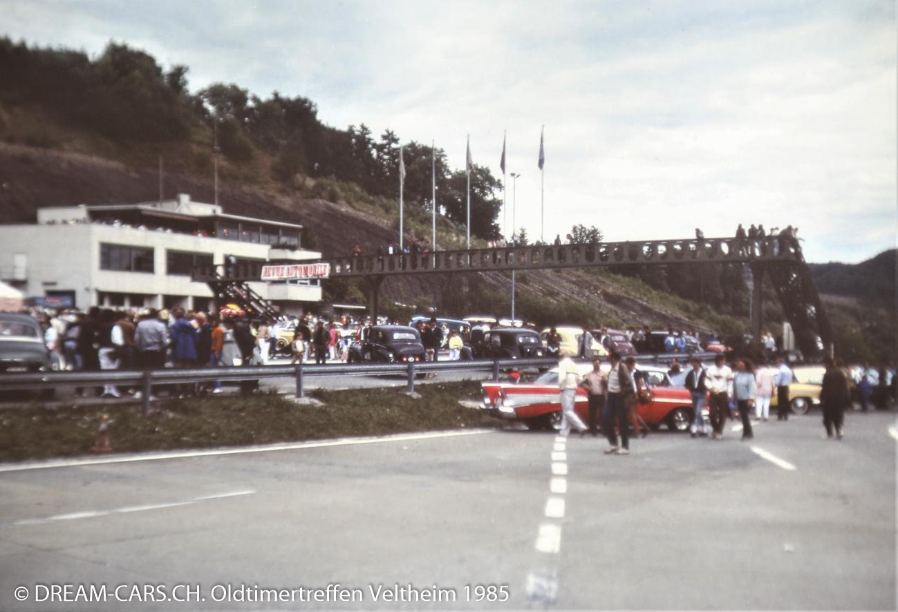 Nostalgie-Weekend, Verkehrs-Sicherheits-Zentrum Veltheim, 8./9. Juni 1985