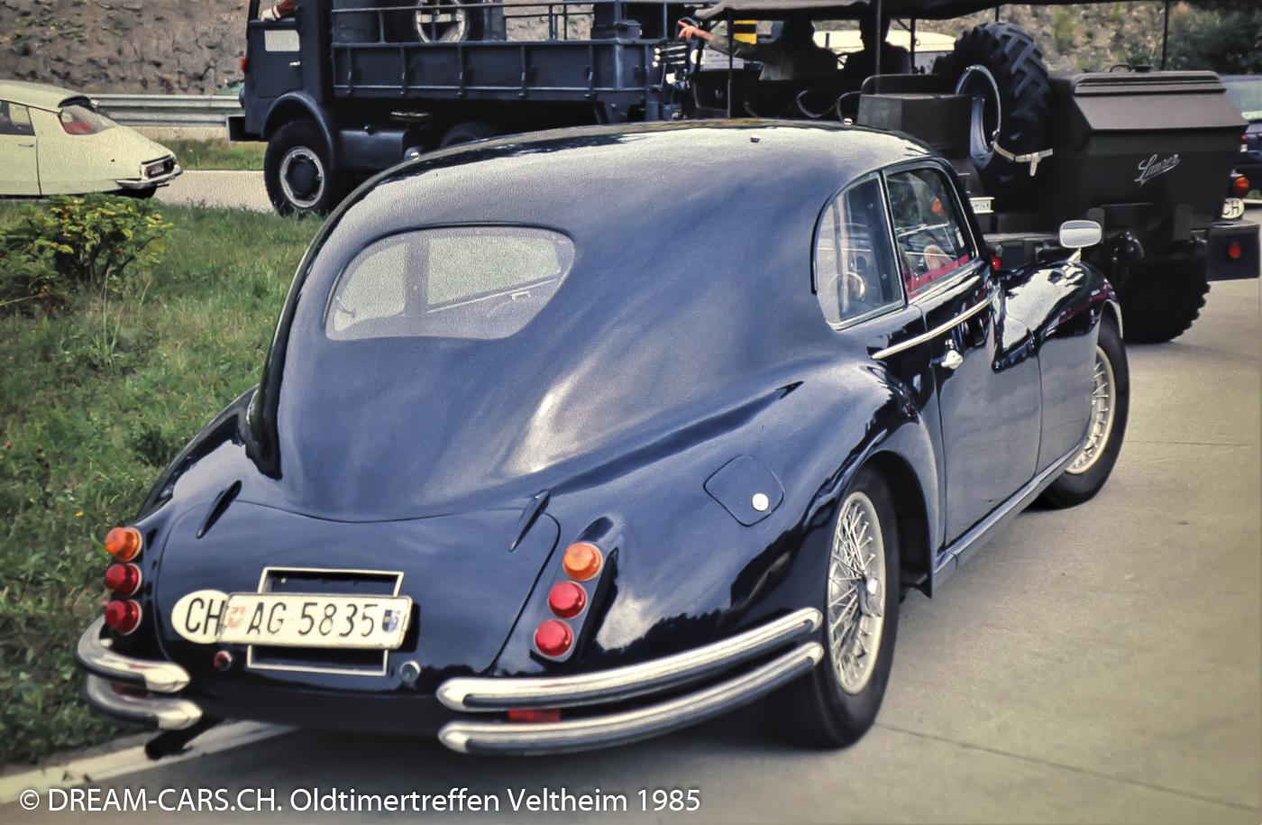 Tag des Autos am 8. September 1985 im Verkehrs-Sicherheits-Zentrum Veltheim.