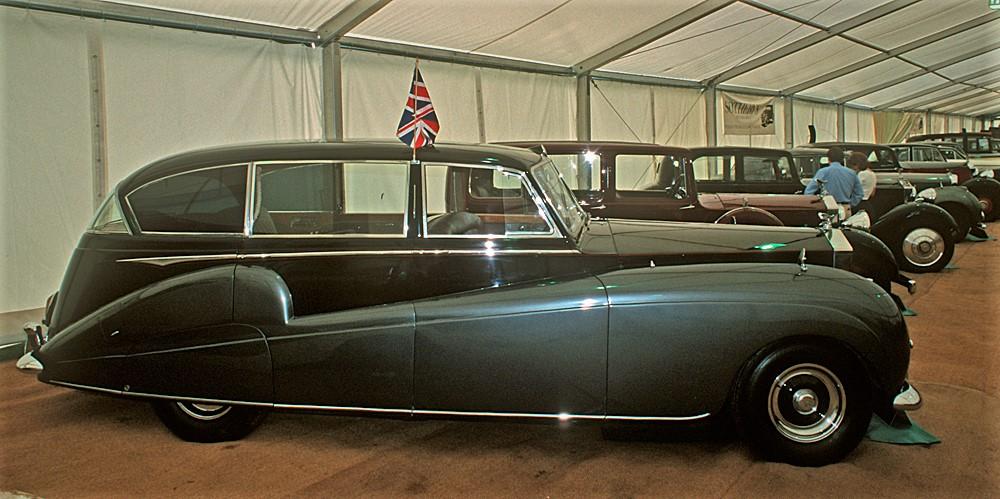 Rolls Royce Silver Wraith, Freestone & Webb, FLW 26