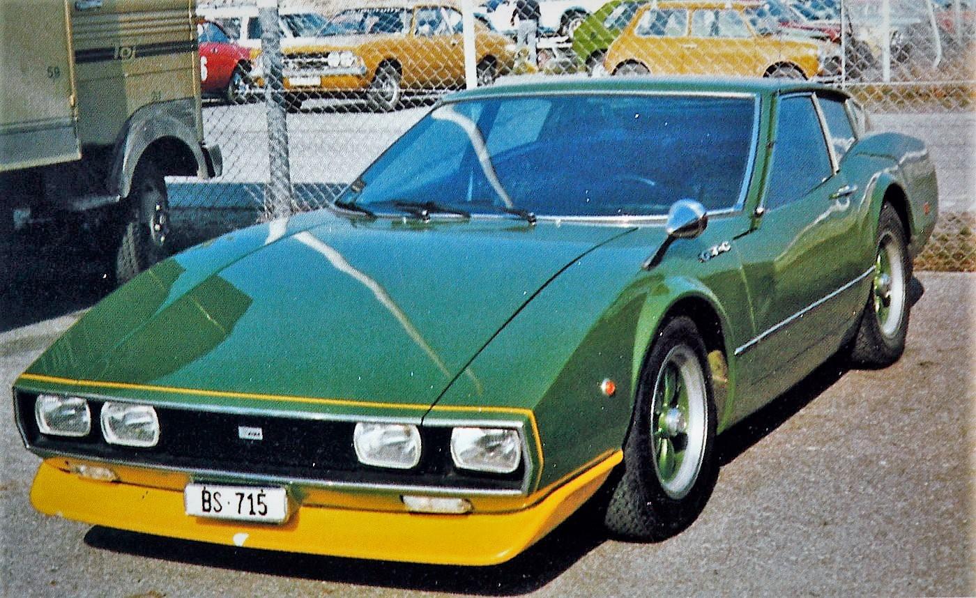DIBA GTC der Carosserie Dietrich AG, Basel. 1970 gebaut auf Basis eines Porsche 911.