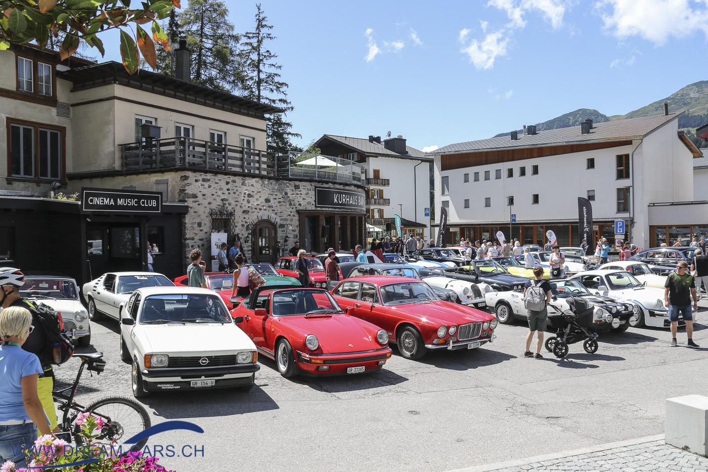 Sommerfest 2020 der Lenzerheide Motor Classics