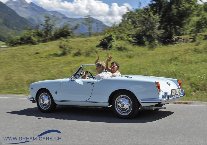 Lenzerheide Motor Classics, Sommerfest, 15./16. August 2020. Bei Sonnenschein im Cabriolet durchs Bünderland - Genuss pur.