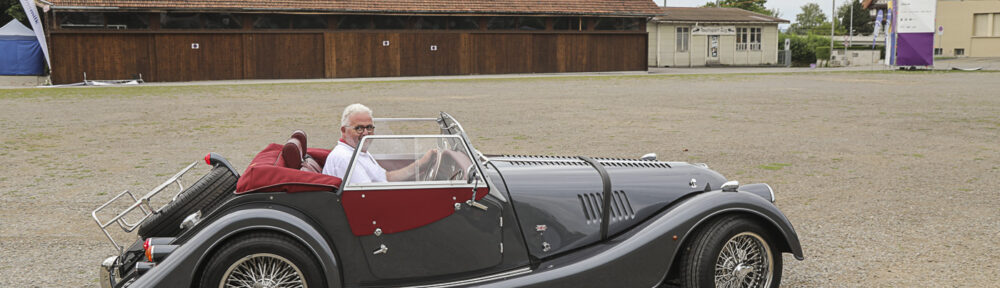 OSMT Zug, 02. August 2020. Martin Käser im Morgan Roadster