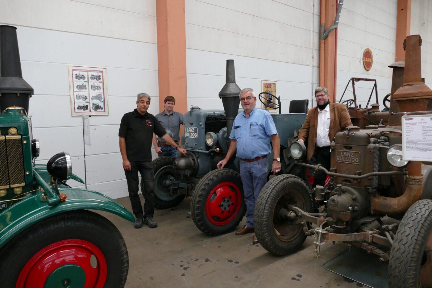 Seit dem 8. August gibt es im PS.SPEICHER in Einbeck eine Sonderausstellung zum Thema Lanz
