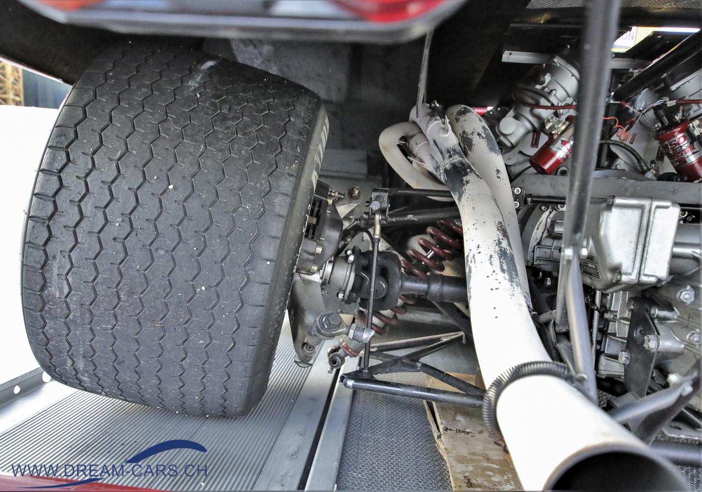 Arosa ClassicCar 2020. Die gebrochene Aufhängung am Ferrari 512M
