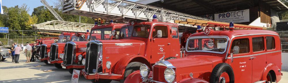 Dolder Classics Zürich, 13. September 2020. Sonderschau mit Feuerwehrfahrzeugen