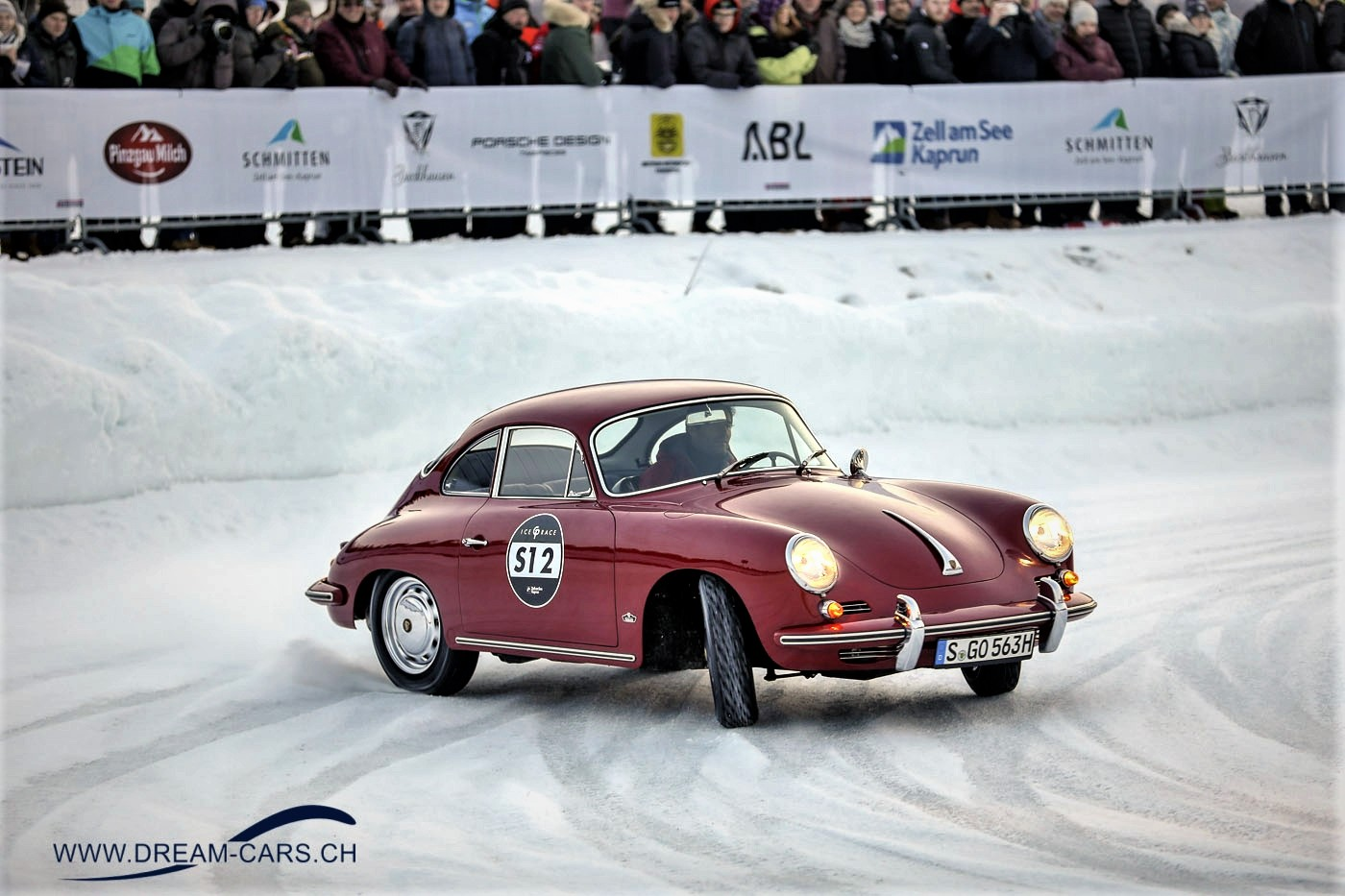 Porsche 356 am GP Ice Race in Zell am See 2019