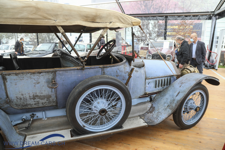 Auto e Moto d'Epoca Padua, 22. bis 25. Oktober 2020. Der wunderschöne ITALA 18/30 HP aus dem Jahr 1913.