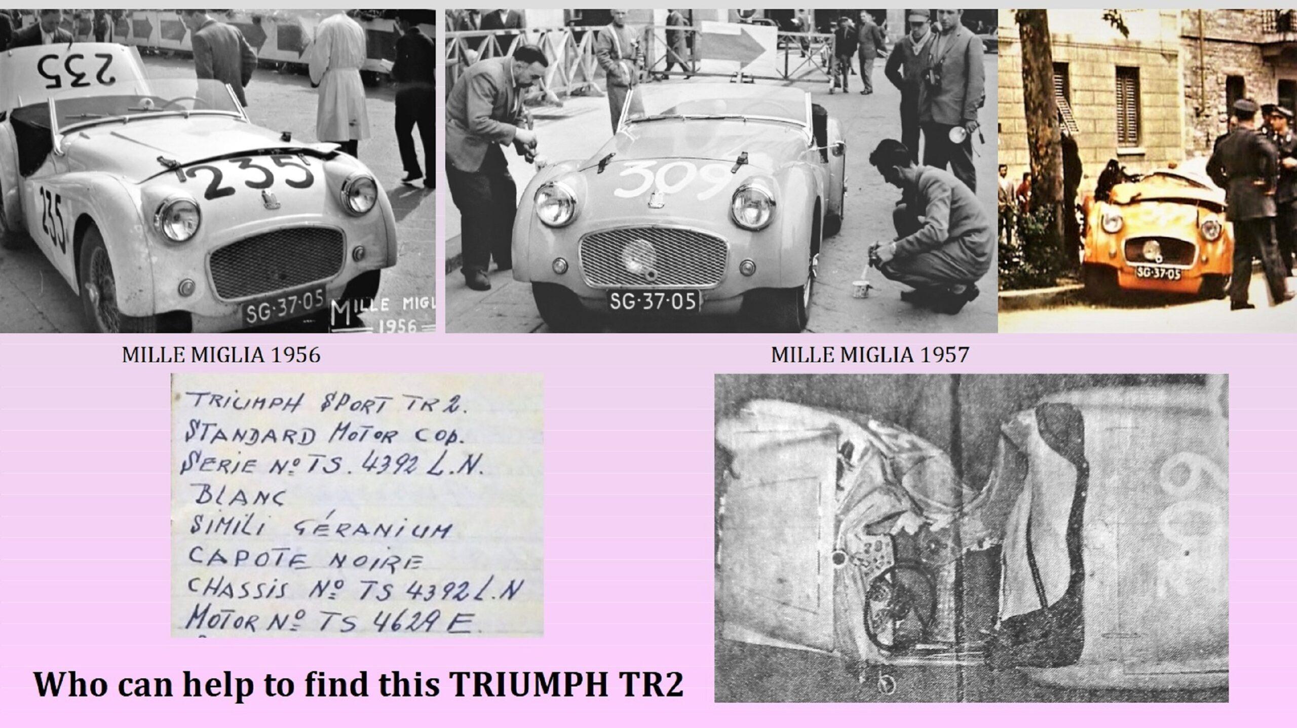 Jan Meesters sucht den Triumph TR von Jos Göttgens