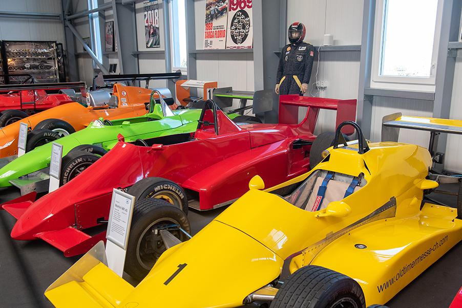 Automuseum, Lömmenschwil, Thema, Rennwagen