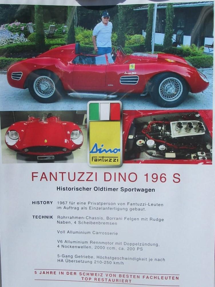 Dino 196 Fantuzzi Replica