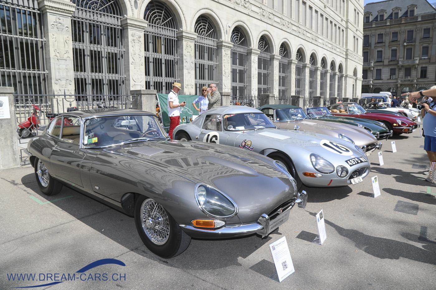 ZCCA, Jaguar, E, Type, 60 Jahre