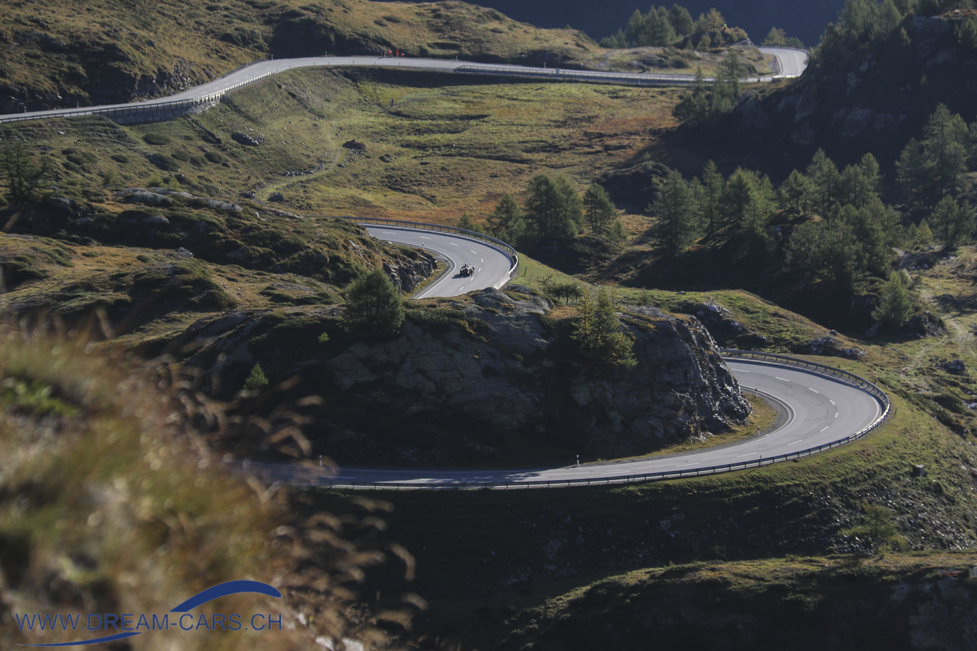 Bernina Gran Turismo, 17. - 19. September 2021. Die Strecke am Berninapass lässt keine Wünsche offen