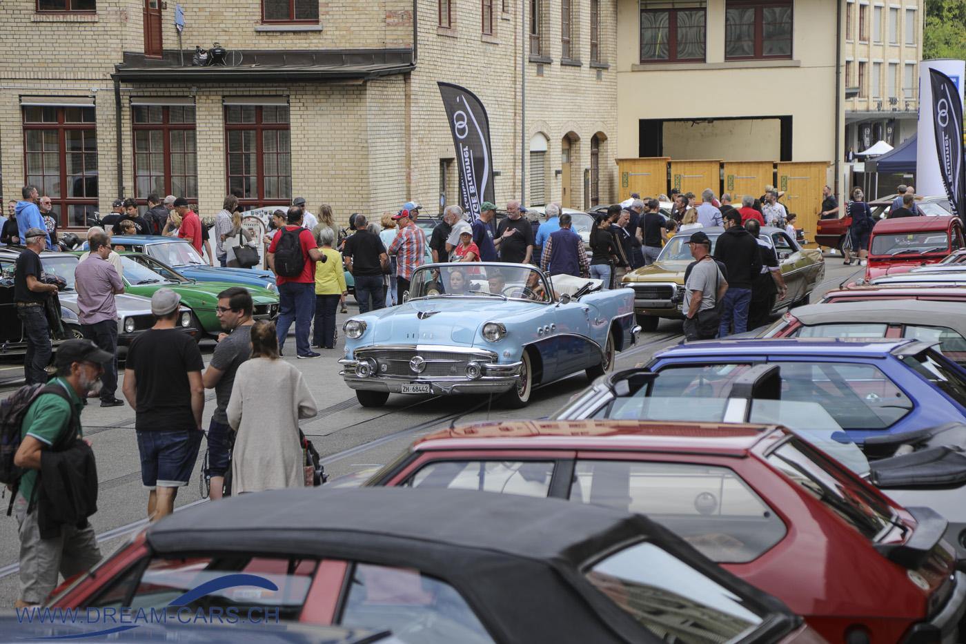 4. Older Classics, 12. September 2021, MOTORWORLD / The Valley, Kemptthal. Wieder Grossandrang mit weit mehr als 1'000 Fahrzeugen