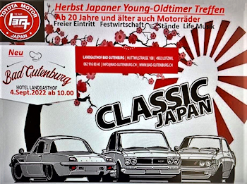 Classic, Japan, Treffen, 2022