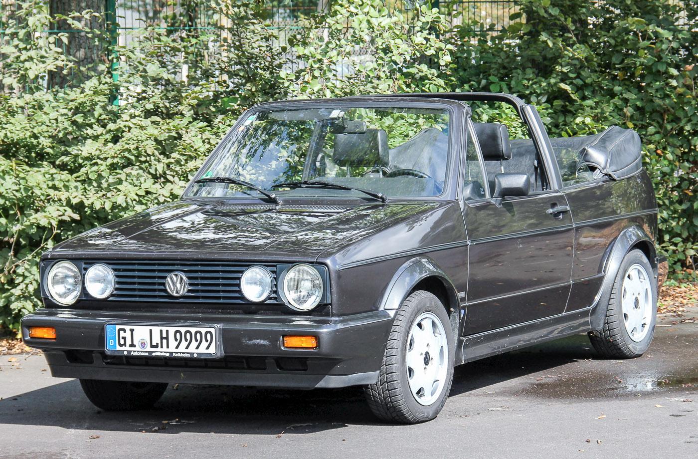6. Preis: VW Golf I Cabriolet