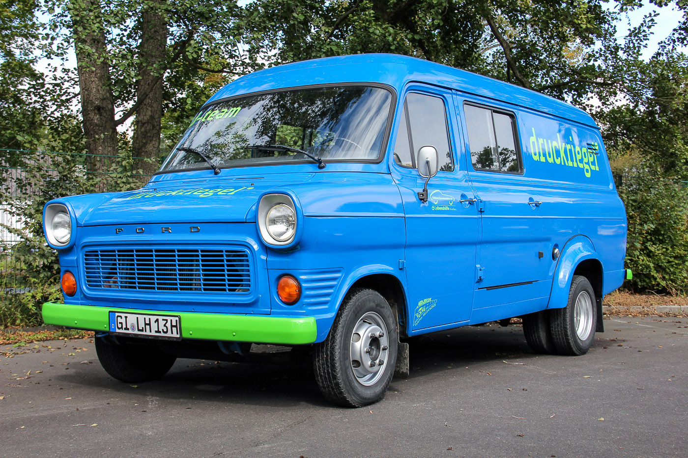 7. Preis: Ford Transik MK I