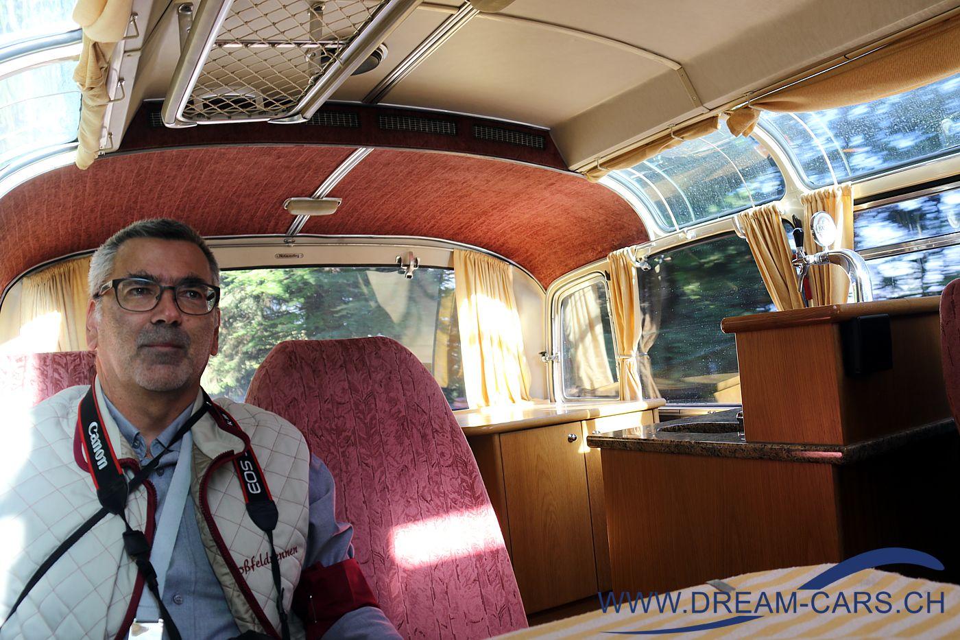 Fahrt im historischen Bus am Rossfeldrennen