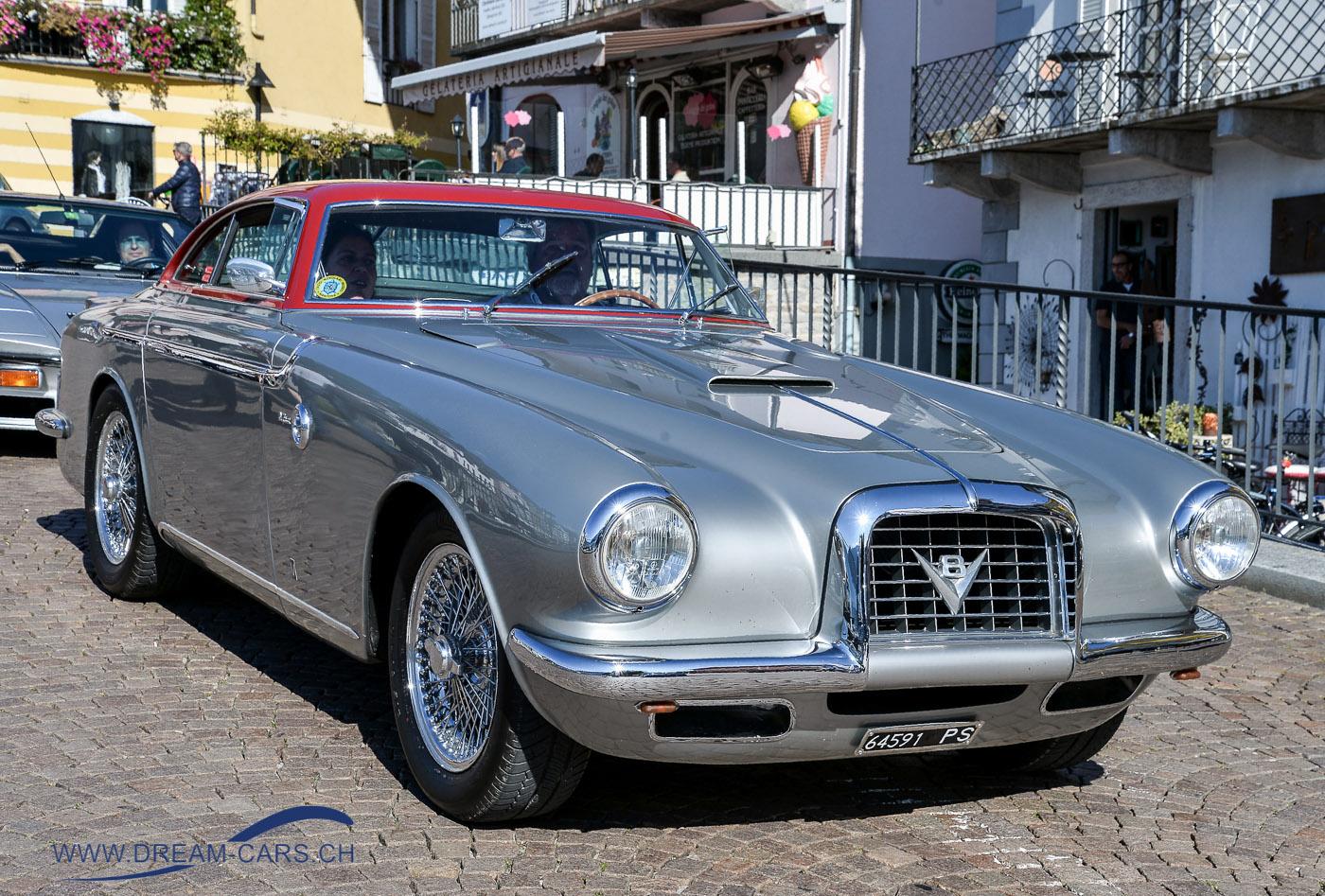 ACCA - Ascona Classic Car Award 2017. Der Gesamtsieger 'Best of Show', ein Fiat 8V Coupé Vignale von 1953