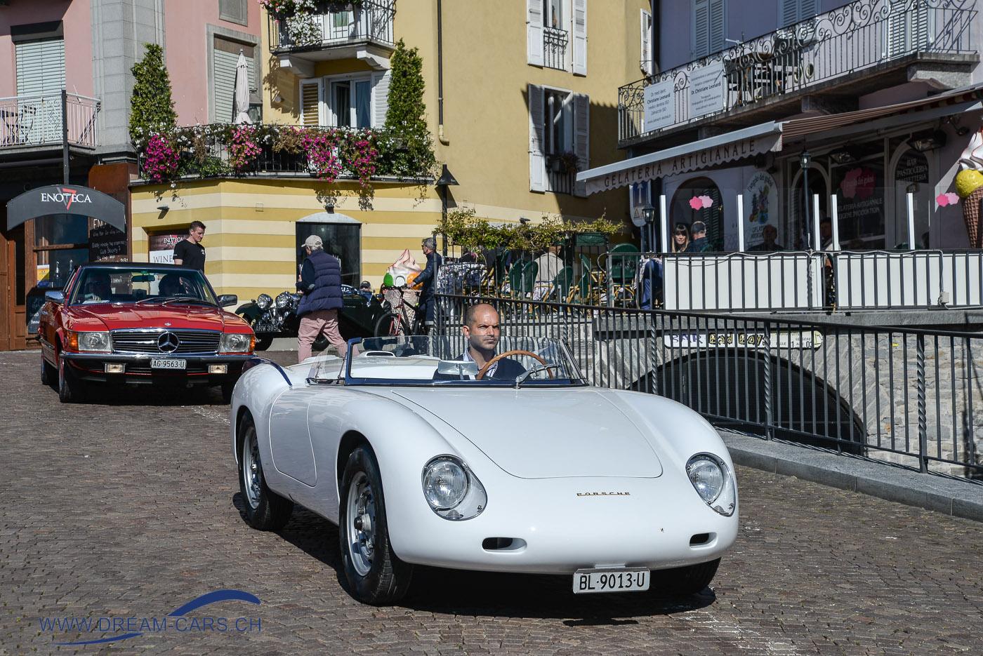 ACCA - Ascona Classic Car Award 2017. Ein offener Porsche 356 mit einer Karosserie von Zagato