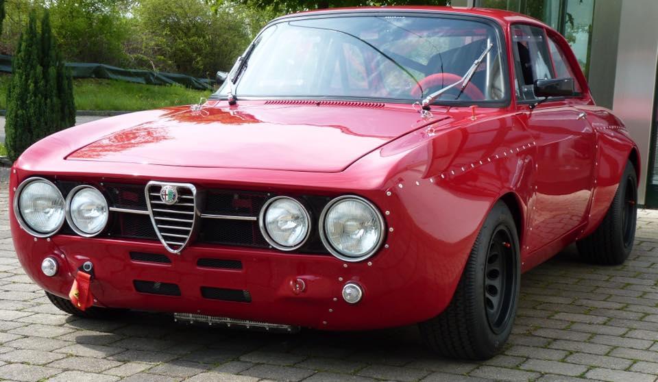 Alfa Romeo GT 1750 Rennwagen