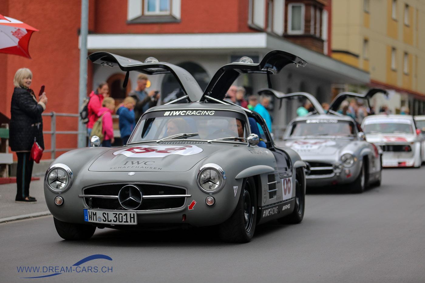 Mercedes 300 SL, Karl Wendlinger, Arosa ClassicCar