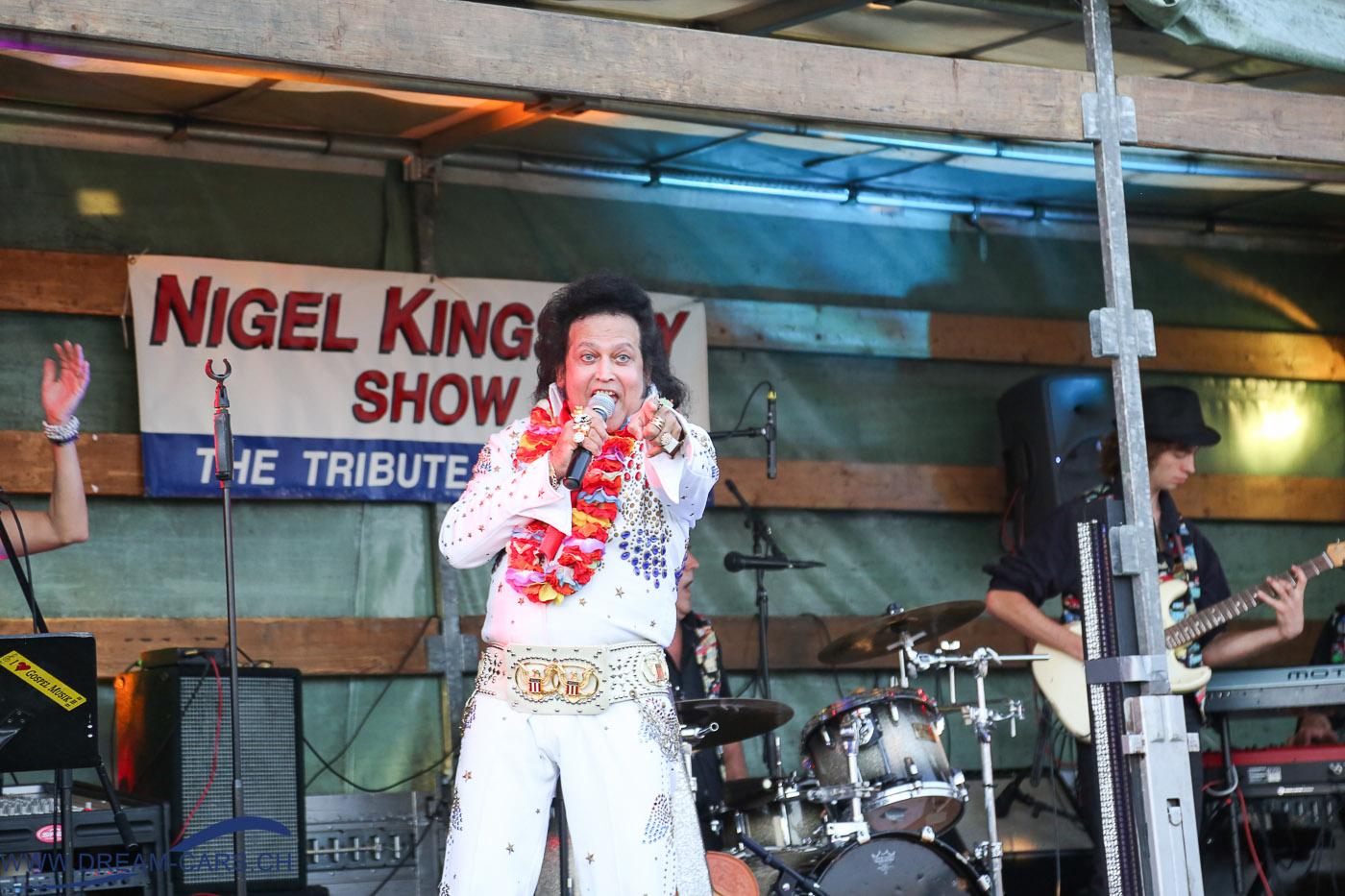 Autokino Muri, 23. Juli 2016. Unterhaltung mit Nigel Kinglsey