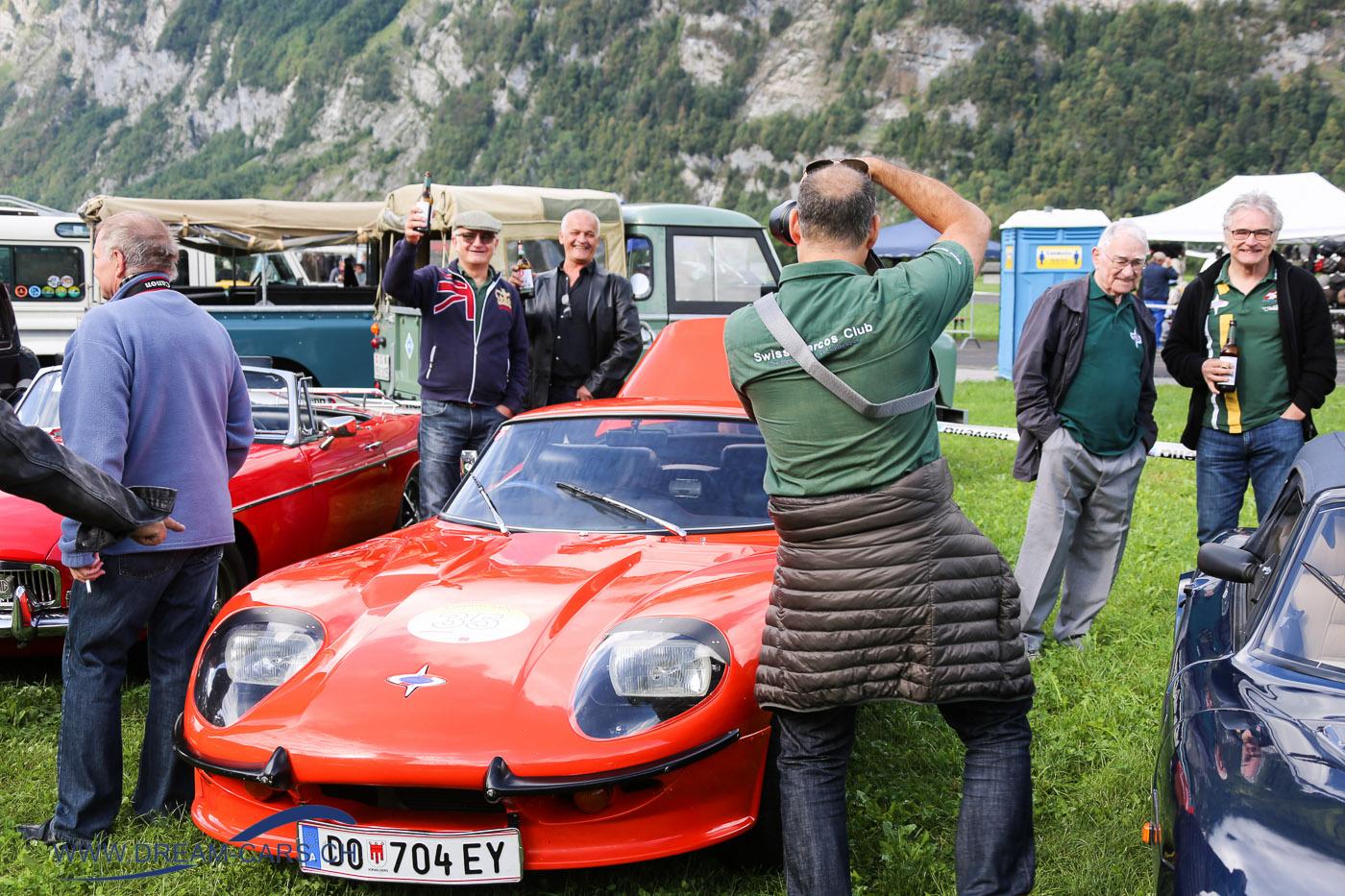BCM - British Car Meeting Mollis, 26.08.2018. Die Stimmung war ausgezeichnet