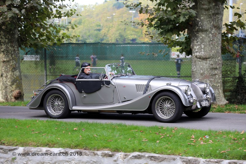 Swiss Classic British Car Meeting Morges 2015 Morgan