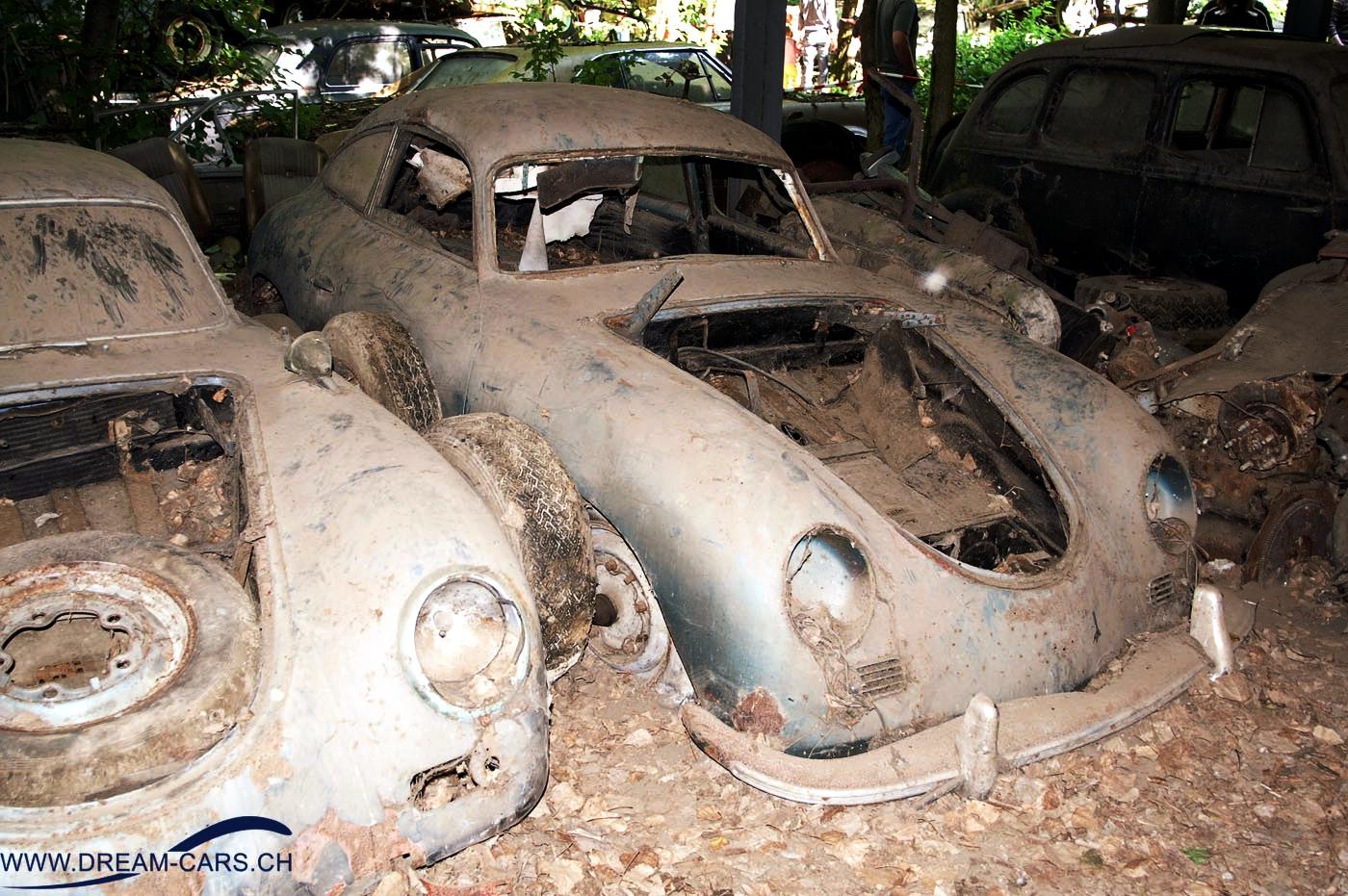 Autoabbruch Messerli Kaufdorf Porsche 356