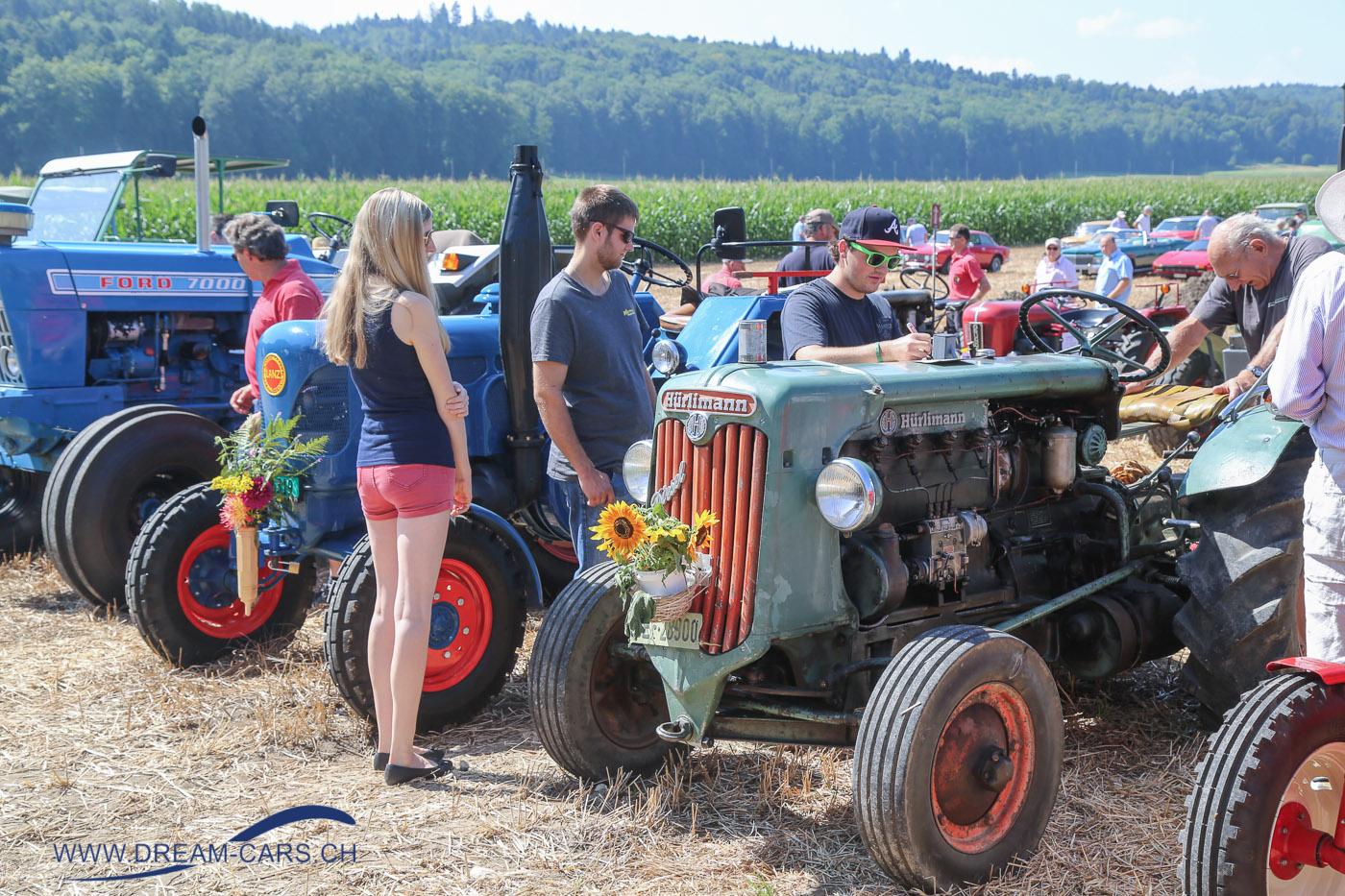 Oldtimertreffen Bleienbach, 29. Juli 2018. Das Sonderthema Traktoren und Einachser war spannend