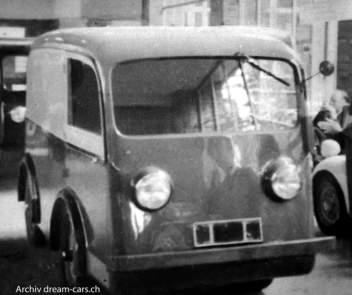 Calag Elektrolieferwagen